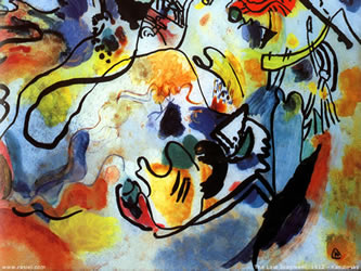 The last judgment 1912 - Wassily Kandinsky